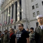 Hundreds of Military Personnel March with Occupy Wall Street, More to Join